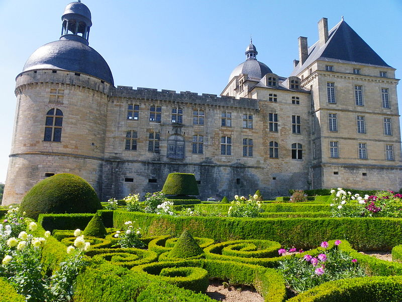 Das Schloss Hautefort