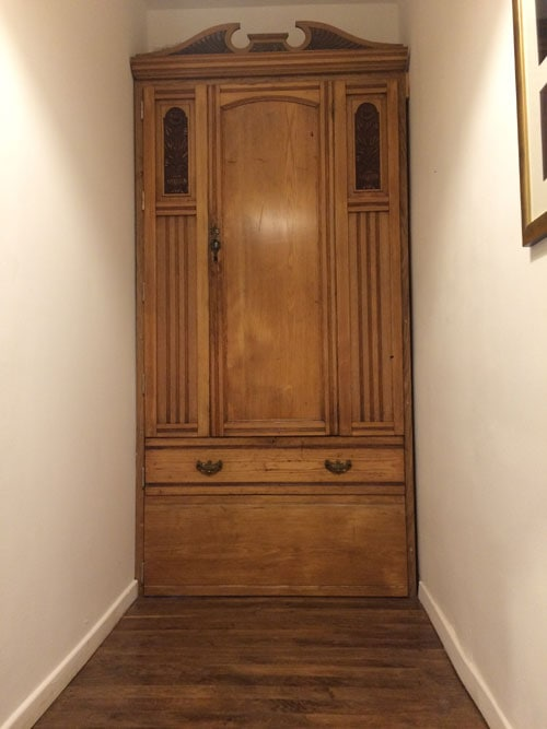 The Gites Narnia wardrobe
